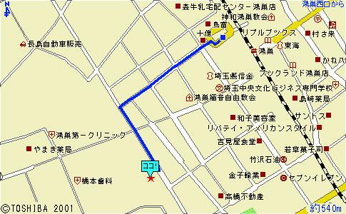 埼玉インプラントセンター地図1